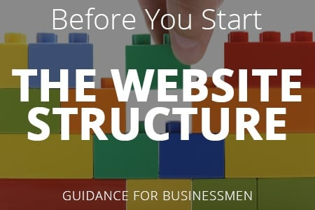Before Creating a Website. The Website Structure And Page Layout